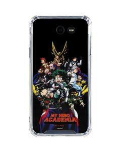 My Hero Academia Main Poster Galaxy J7 (2017) Clear Case