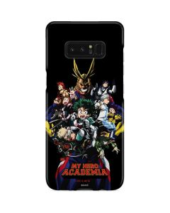 My Hero Academia Main Poster Galaxy Note 8 Lite Case