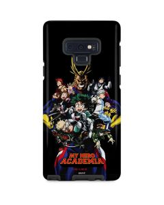 My Hero Academia Main Poster Galaxy Note 9 Pro Case