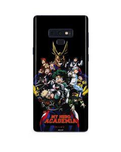 My Hero Academia Main Poster Galaxy Note 9 Skin