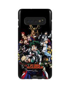 My Hero Academia Main Poster Galaxy S10 Plus Pro Case
