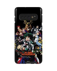 My Hero Academia Main Poster Galaxy S10 Pro Case