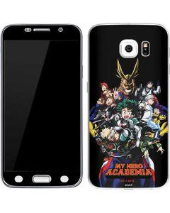 My Hero Academia Main Poster Galaxy S6 Skin