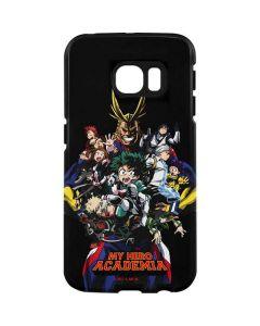 My Hero Academia Main Poster Galaxy S7 Edge Pro Case