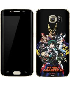 My Hero Academia Main Poster Galaxy S7 Edge Skin
