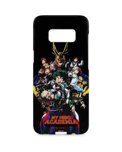 My Hero Academia Main Poster Galaxy S8 Plus Lite Case