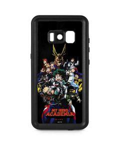 My Hero Academia Main Poster Galaxy S8 Plus Waterproof Case