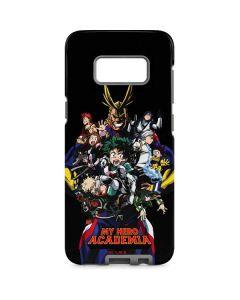 My Hero Academia Main Poster Galaxy S8 Pro Case