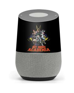 My Hero Academia Main Poster Google Home Skin