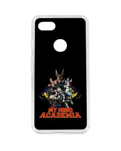 My Hero Academia Main Poster Google Pixel 3 XL Clear Case