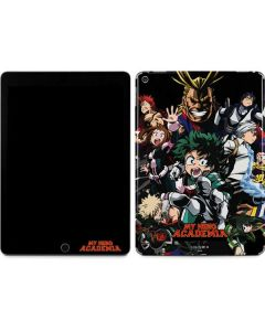 My Hero Academia Main Poster Apple iPad Air Skin
