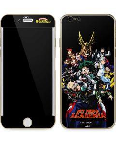 My Hero Academia Main Poster iPhone 6/6s Skin