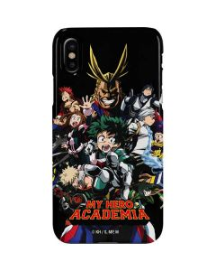 My Hero Academia Main Poster iPhone XS Lite Case