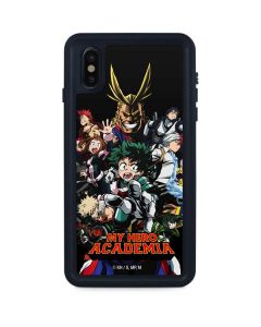 My Hero Academia Main Poster iPhone XS Max Waterproof Case