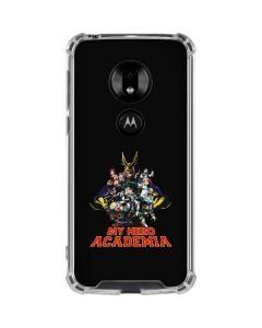 My Hero Academia Main Poster Moto G7 Play Clear Case