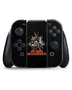 My Hero Academia Main Poster Nintendo Switch Joy Con Controller Skin