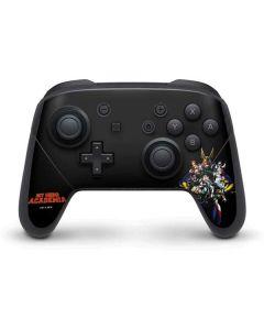 My Hero Academia Main Poster Nintendo Switch Pro Controller Skin
