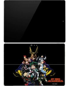 My Hero Academia Main Poster Surface Pro 4 Skin
