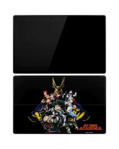 My Hero Academia Main Poster Surface Pro Tablet Skin