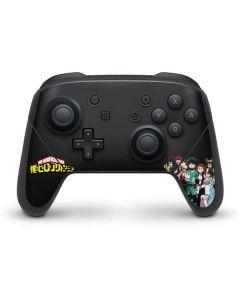 My Hero Academia Nintendo Switch Pro Controller Skin