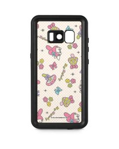 My Melody Pattern Galaxy S8 Plus Waterproof Case