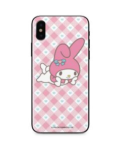 My Melody Posing iPhone XS Skin