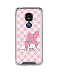 My Melody Posing Moto G7 Power Clear Case