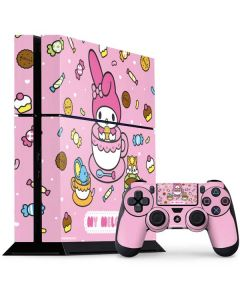 My Melody Sweet Treats PS4 Console and Controller Bundle Skin