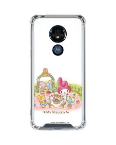 My Melody Tea Party Moto G7 Power Clear Case