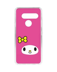 My Melody Up Close LG V40 ThinQ Clear Case