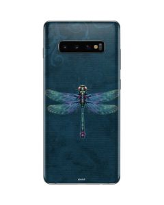 Mystical Dragonfly Galaxy S10 Plus Skin
