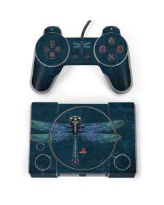 Mystical Dragonfly PlayStation Classic Bundle Skin