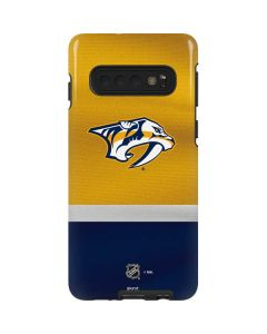 Nashville Predators Alternate Jersey Galaxy S10 Pro Case