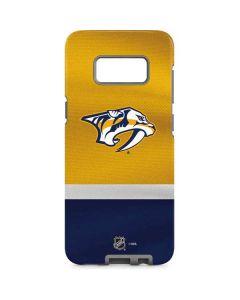 Nashville Predators Alternate Jersey Galaxy S8 Pro Case