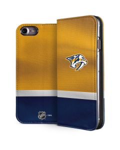 Nashville Predators Alternate Jersey iPhone 7 Folio Case