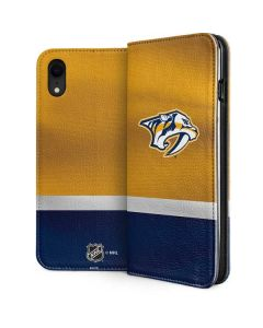 Nashville Predators Alternate Jersey iPhone XR Folio Case