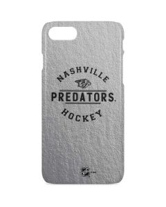 Nashville Predators Black Text iPhone 8 Lite Case
