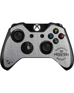 Nashville Predators Black Text Xbox One Controller Skin