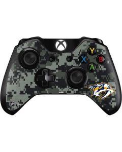 Nashville Predators Camo Xbox One Controller Skin