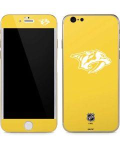 Nashville Predators Color Pop iPhone 6/6s Skin