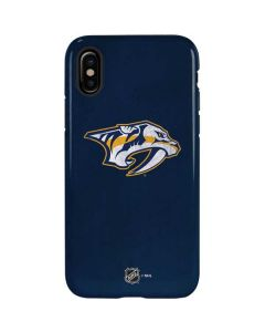 Nashville Predators Distressed iPhone X Pro Case