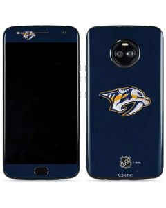 Nashville Predators Distressed Moto X4 Skin
