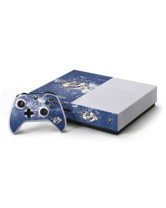 Nashville Predators Frozen Xbox One S Console and Controller Bundle Skin
