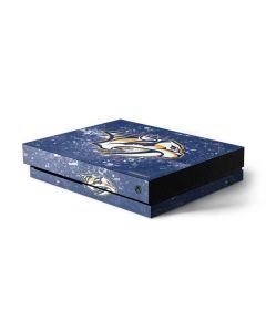 Nashville Predators Frozen Xbox One X Console Skin