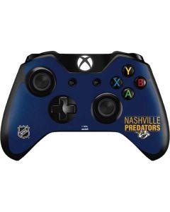 Nashville Predators Lineup Xbox One Controller Skin