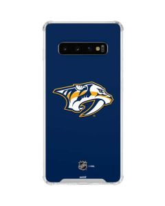 Nashville Predators Logo Galaxy S10 Clear Case