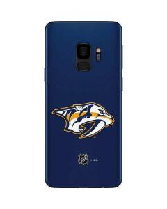 Nashville Predators Logo Galaxy S9 Skin