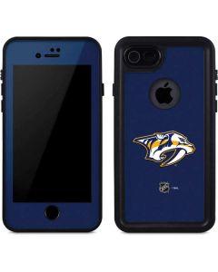 Nashville Predators Logo iPhone 8 Waterproof Case