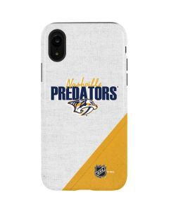 Nashville Predators Script iPhone XR Pro Case