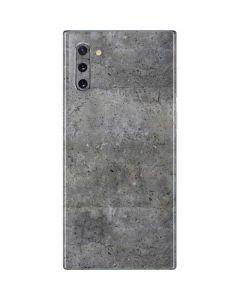Natural Grey Concrete Galaxy Note 10 Skin